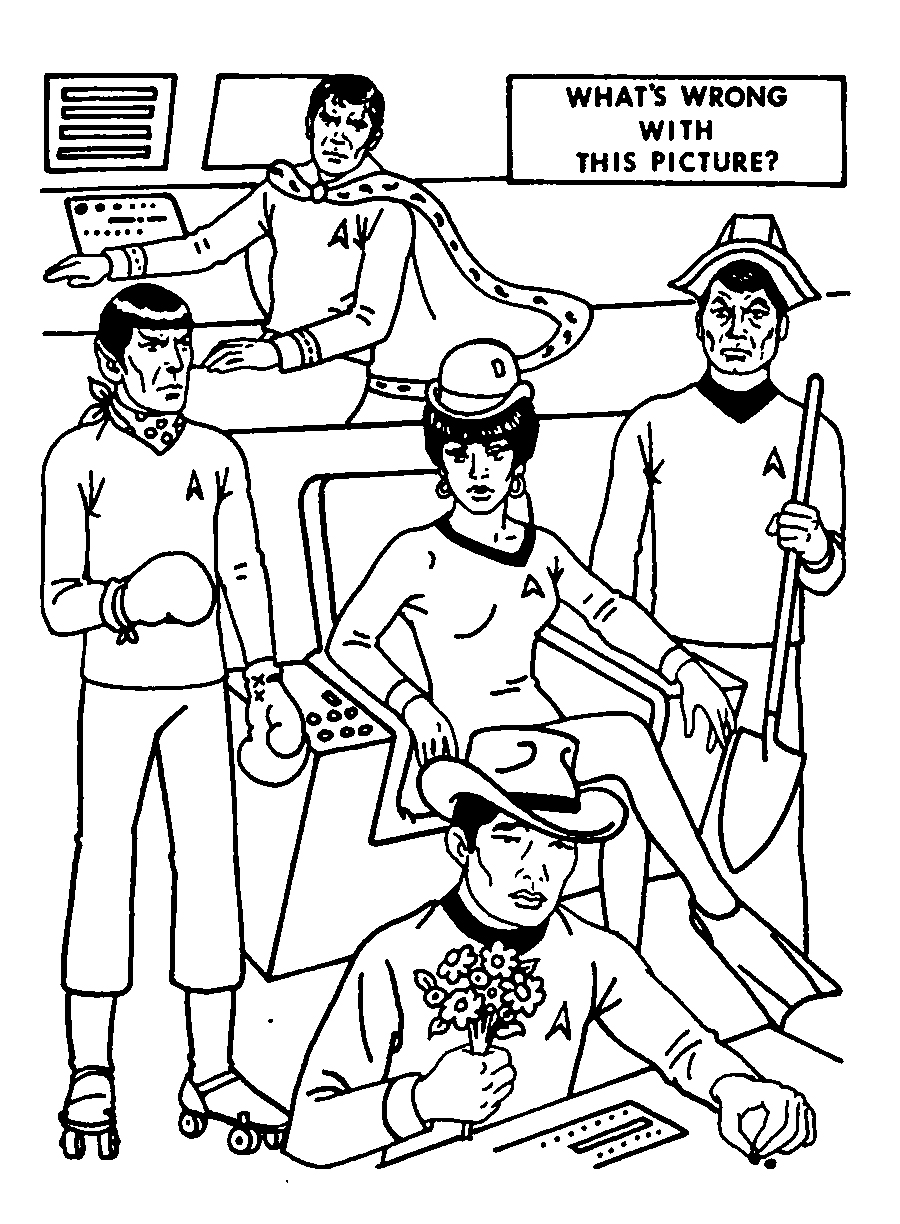 Star Trek: The Coloring Book! - Blog of Much Holding