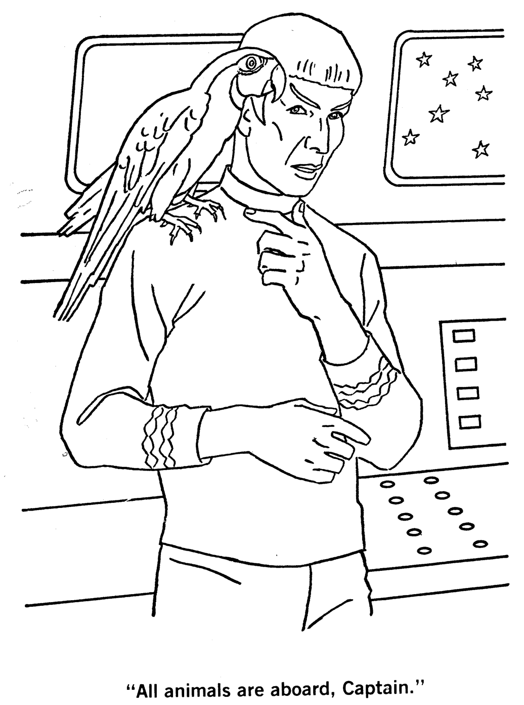 Star Trek Coloring Pages Free